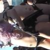 84084784787 100x100 - 《淫乱コスプレ♡》真夏のコスプレイベントに来ていたスレンダー巨乳のサキュバス娘2人を隠し撮り!露出度の高すぎる衣装と淫紋で参加